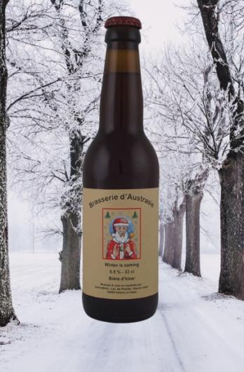 bière d'hiver 33 cl